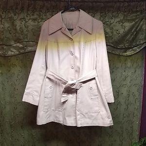 Khaki dress jacket